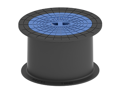 Selbstnivellierende Straßenkappe KOMPAKTUS® Hydrant