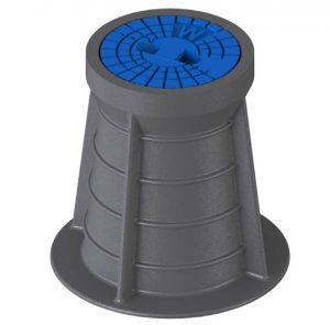 Starre Straßenkappe aus Kunststoff DIN 4056