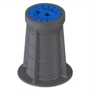 Starre Straßenkappe aus Kunststoff DIN 4057